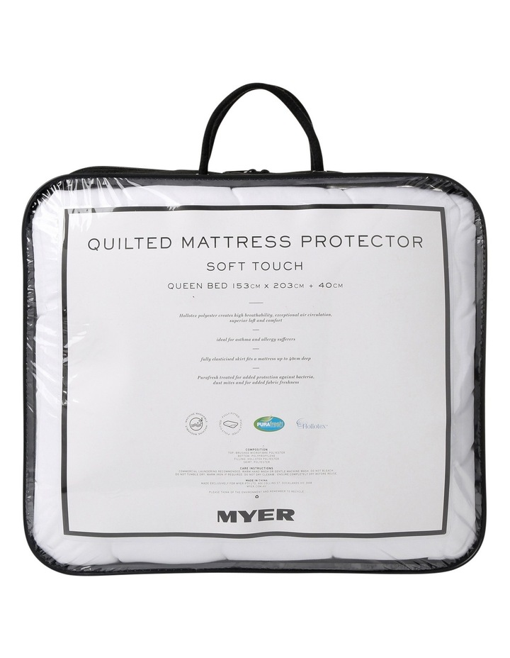 Soft Touch Quilted Mattress Protector image 1