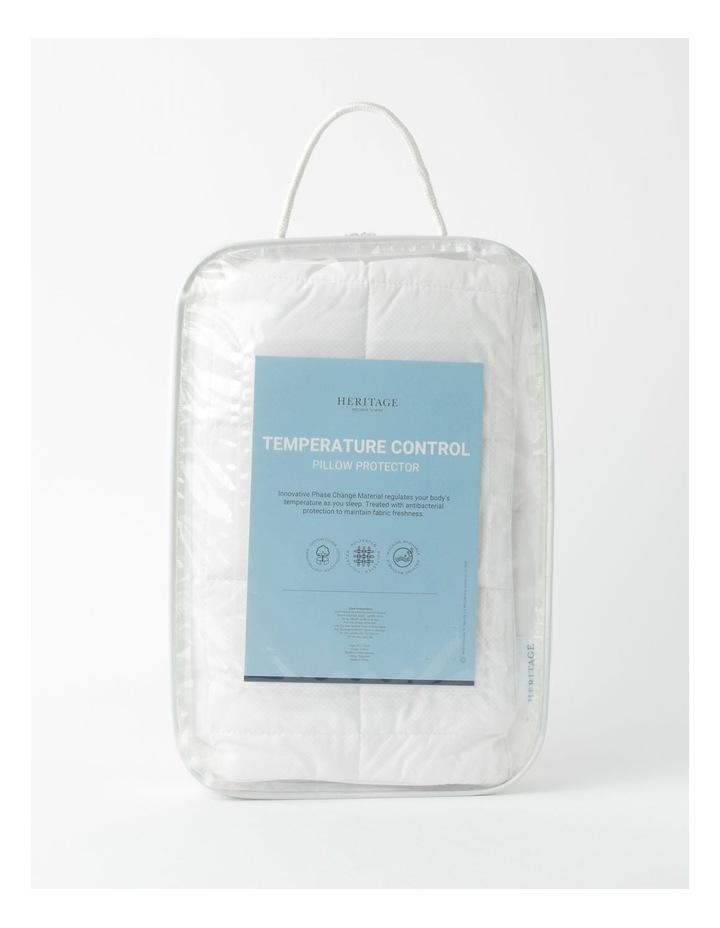 Temperature Control Pillow Protector 1pk image 1