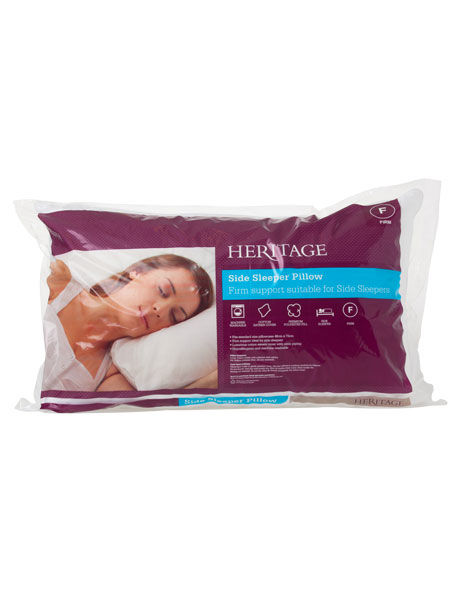 Side Sleeper Polyester Pillow Firm image 1