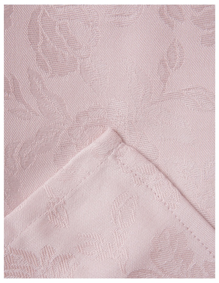 Rose Jacquard Tablecloth 220x150cm Rose Smoke image 1
