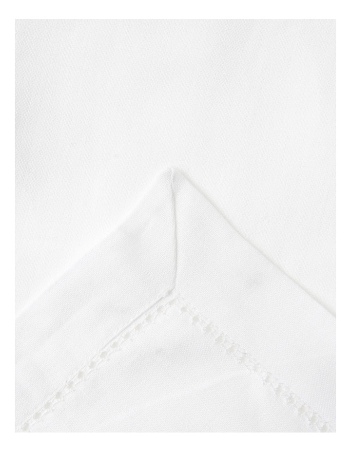 Charlotte Tablecloth White image 1