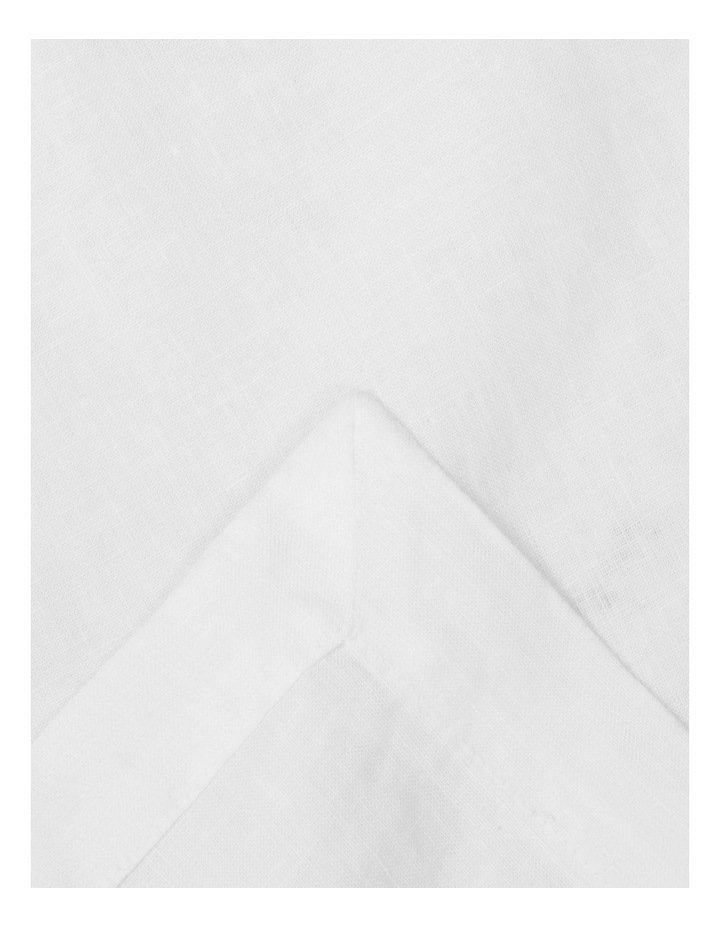 Sandycape Pure Linen Tablecloth - White image 1