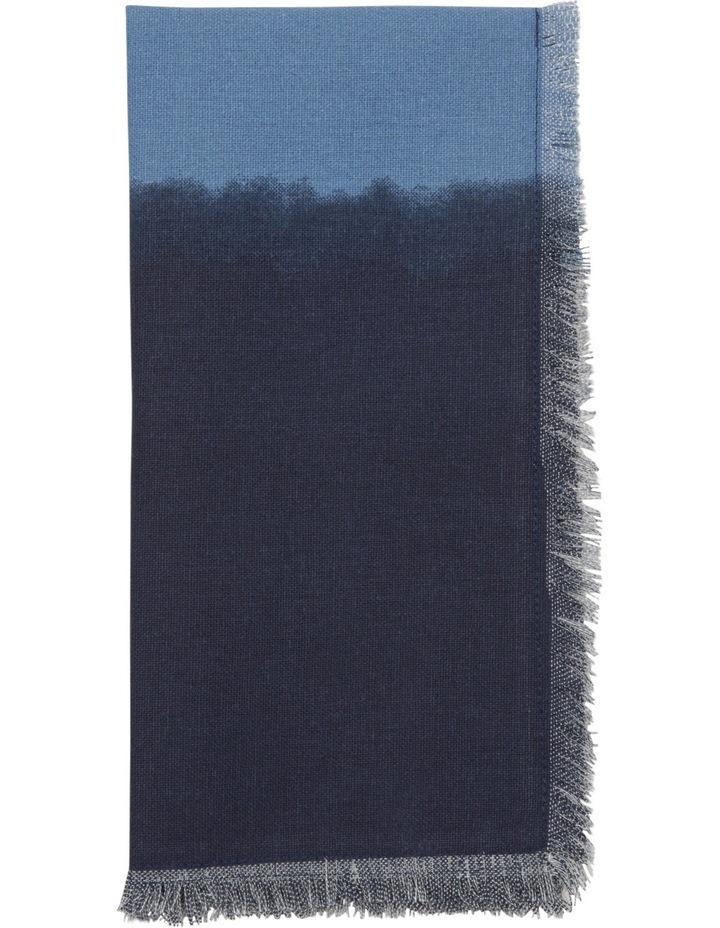 Dip Dye Indigo Napkin 45 x 45 cm image 1