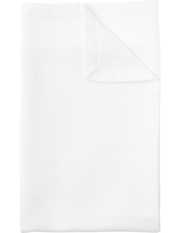 Manhattan Napkin set of 4 50 x 50cm White image 1