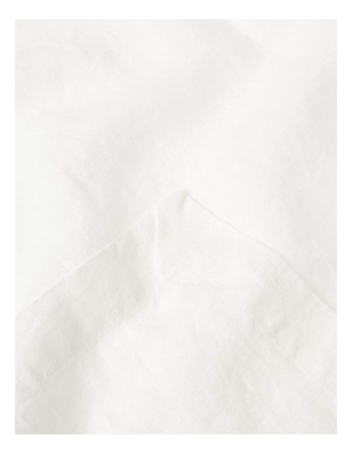 Sandycape Pure Linen Napkin - White image 2