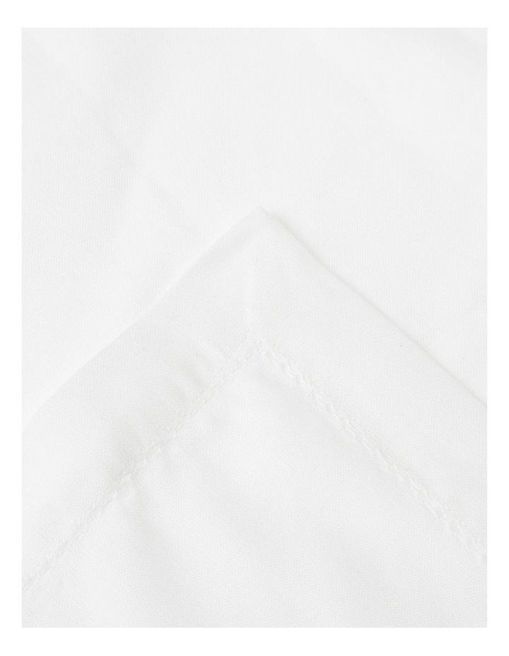 Charlotte Napkin Set of 4 White image 2