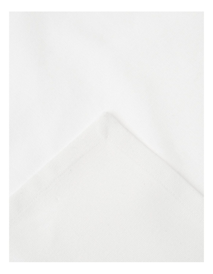White Manhattan Napkin Set image 2