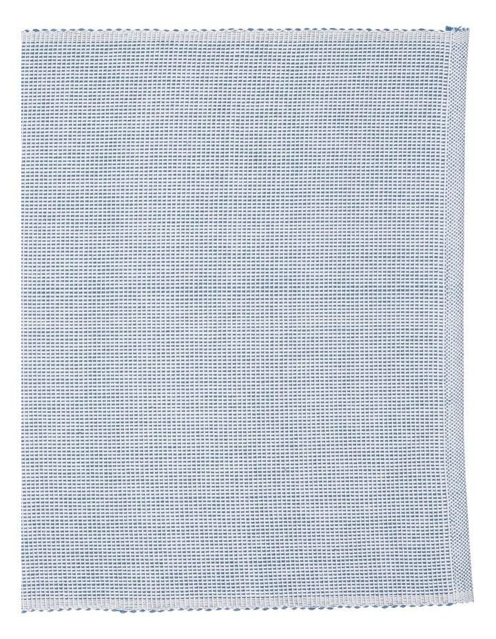 Two Colour Cotton Ribbed Placemat  35x50cm image 2