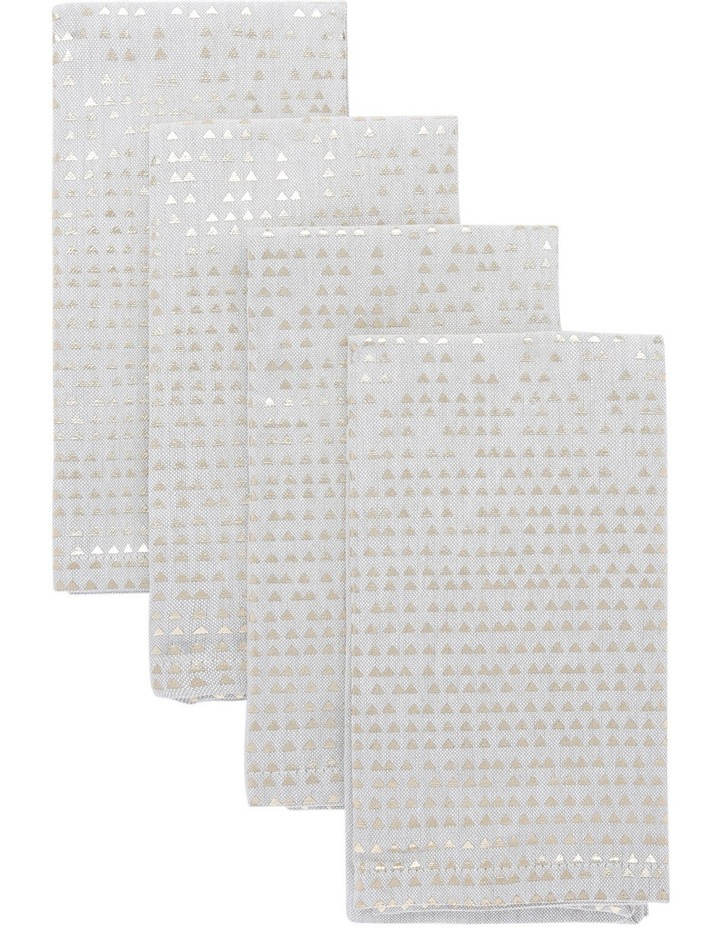Celestial Fused Placemat Gold 4 pack image 1