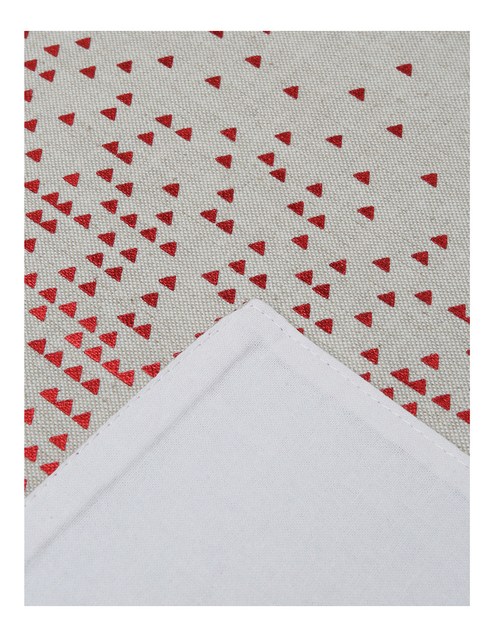 Celestial Fused Placemat Red 4 pack image 2