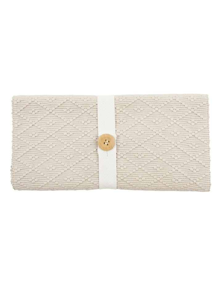 Ribbed Taupe 4 Pack Placemats image 1