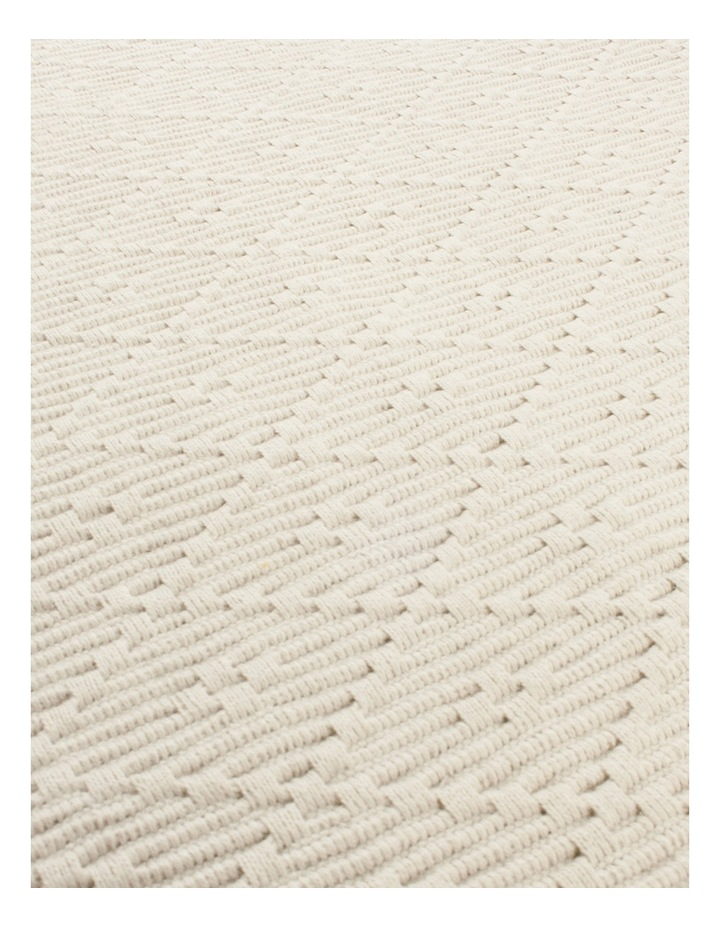 Ribbed Taupe 4 Pack Placemats image 3
