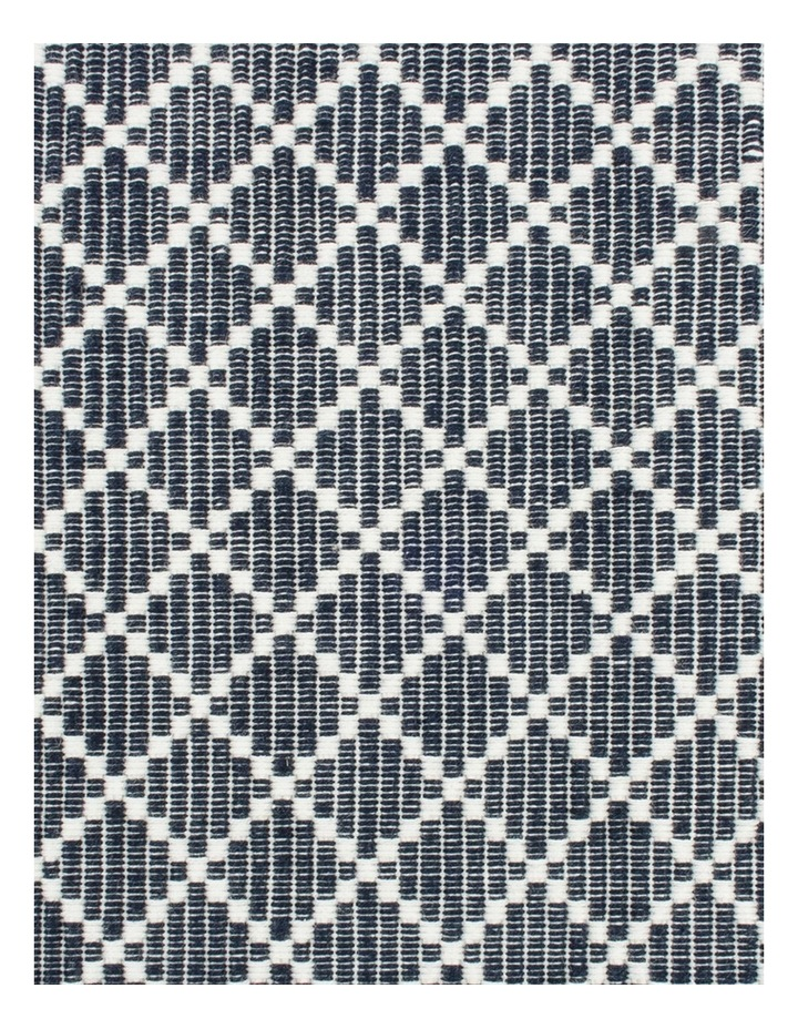 Diamond Ribbed Navy Placemat image 2