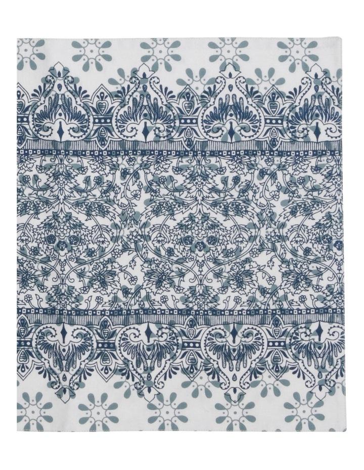 Woodcut Floral Cotton Placemat 33x48cm Set Of 2 image 3