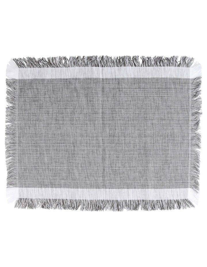 Gibson Placemat Taupe 33x45cm image 1