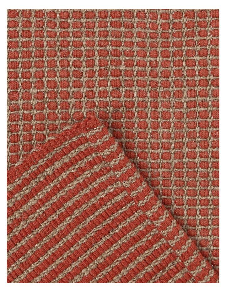 Ezra Placemat 33x50cm Burnt Brick image 3