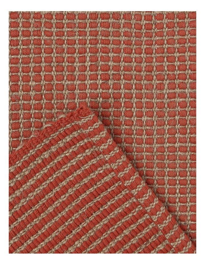 Ezra Placemat 33x50cm Burnt Brick image 4