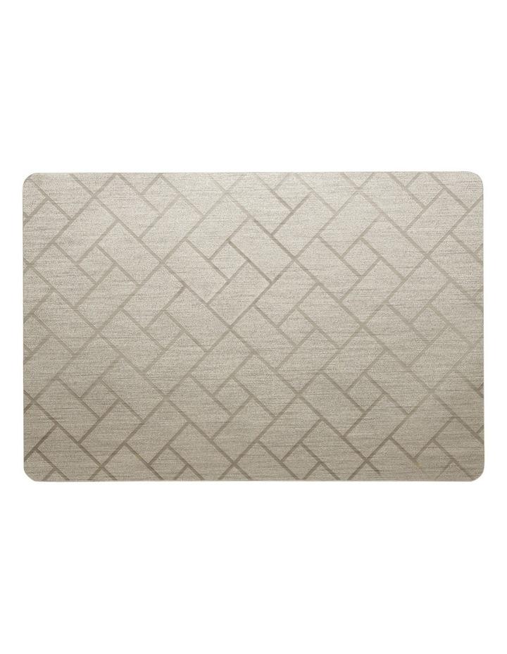 Nocturne Brick Grid Placemat  30x45cm image 1