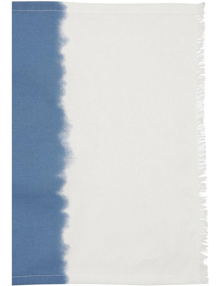 Dip Dye Indigo Frayed Edge Placemat image 2