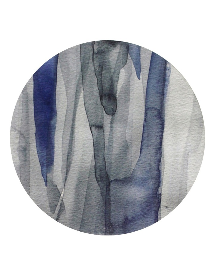Abstract Blue Hard Placemat image 1
