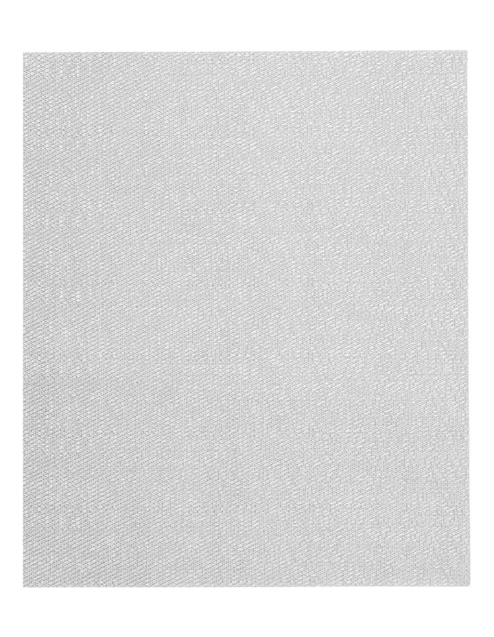 Metallic Texilene Silver placemat Set of 2 33x45cm image 2