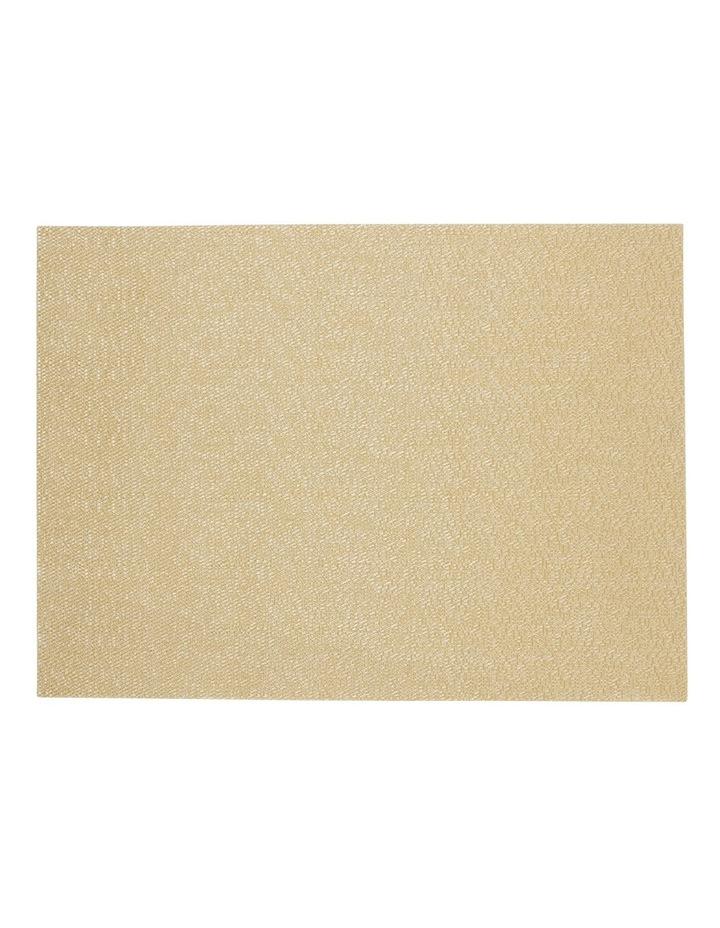 Metallic Texilene Gold placemat Set of 2 33x45cm image 1