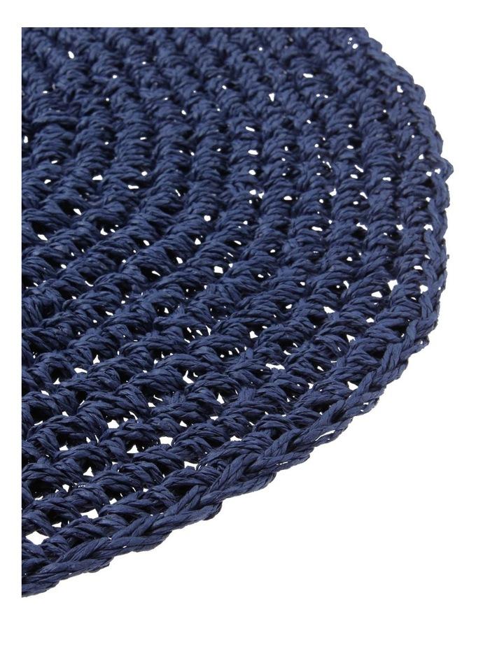 Mornington Paper Placemat 38cm Navy image 2