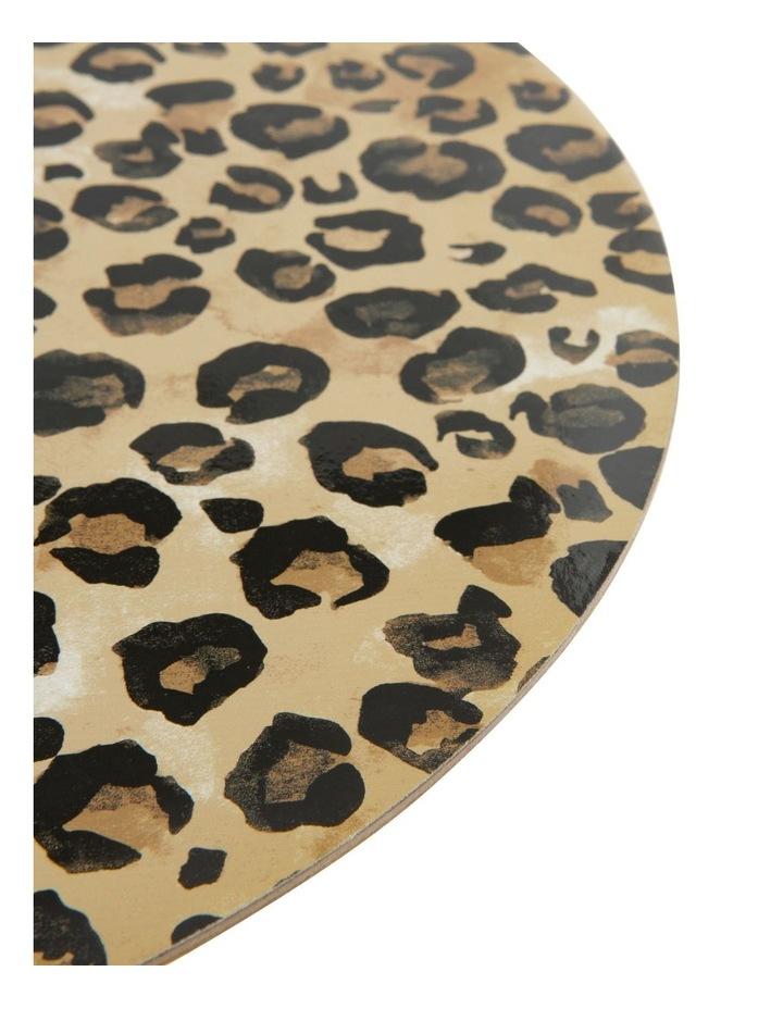 Leopard Hard Back Placemat Set of 4 image 2