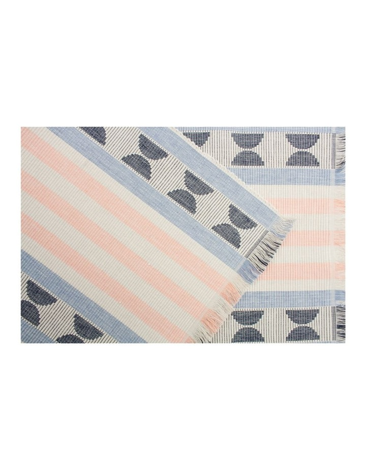 Halliday Ribbed table runner 33x150cm image 2