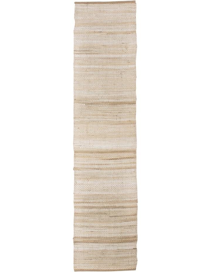 Handwoven Abaca Runner 35 x 140cm Natural image 1
