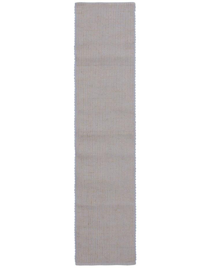Ezra Table Runner 33X150CM Faded Denim image 1