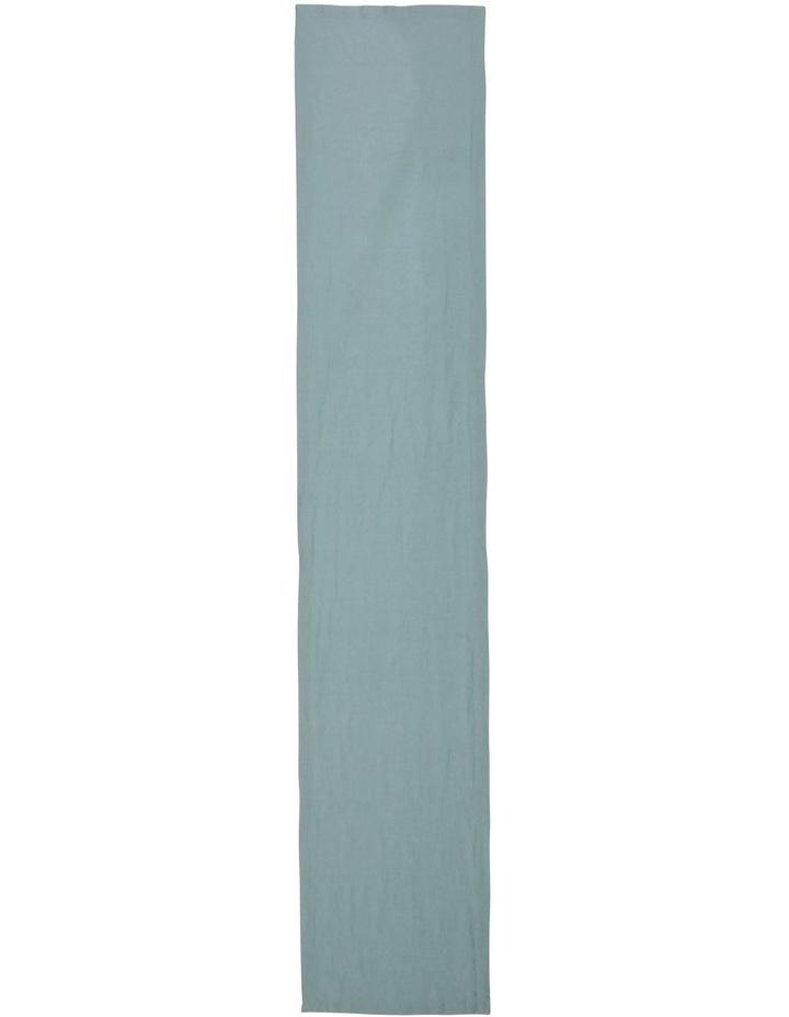 Sandycape Pure Linen Table Runner - Ocean image 1