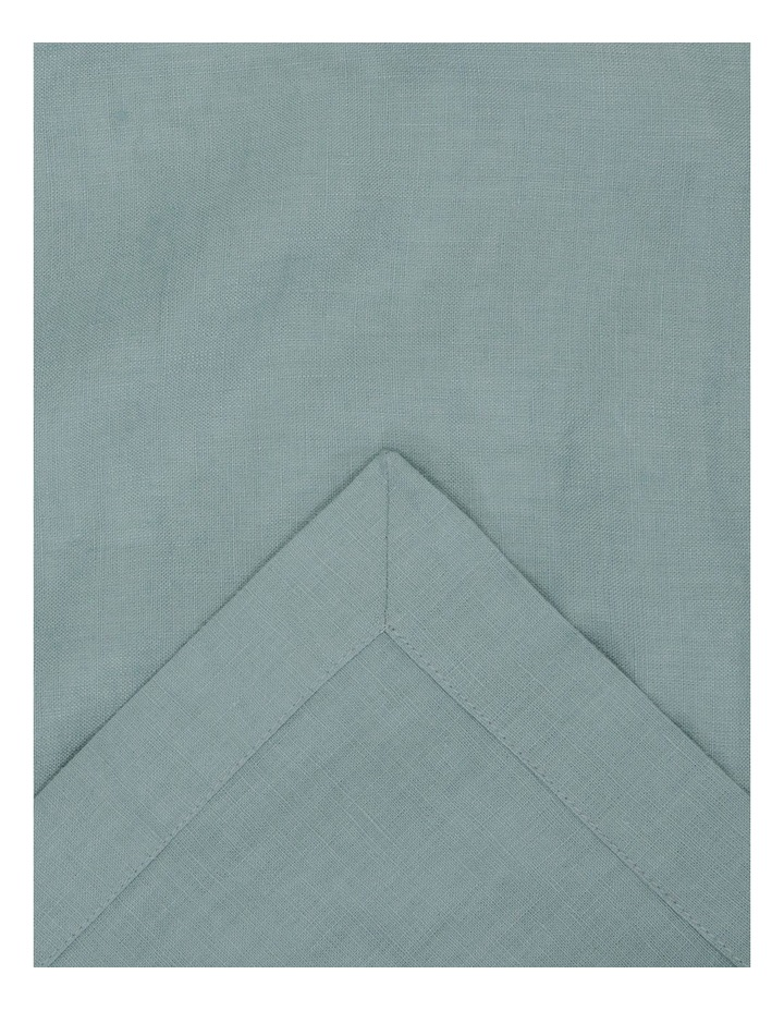 Sandycape Pure Linen Table Runner - Ocean image 2