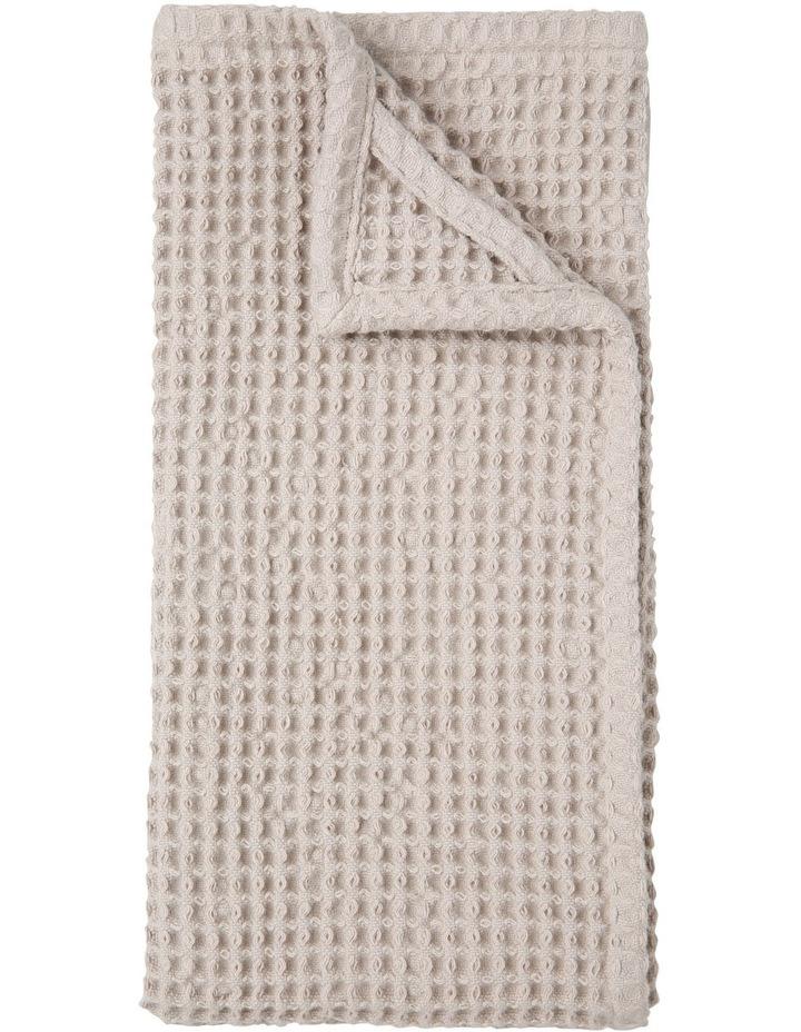 Waffle Weave Kitchen Towel - Taupe image 1