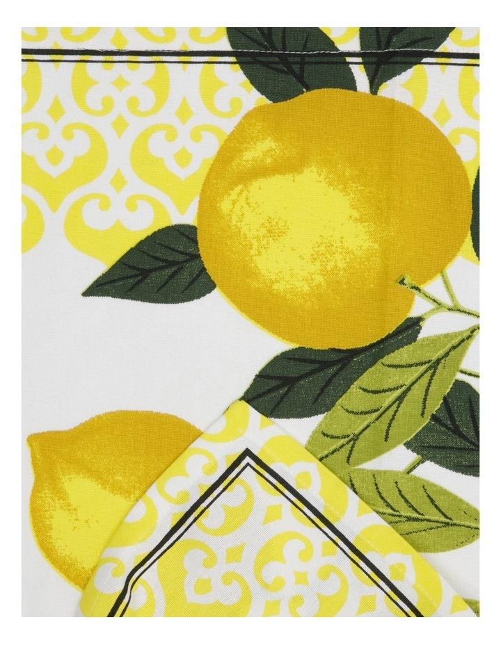 Lemon Design Tea Towels 70x50cm Set of 3 image 2