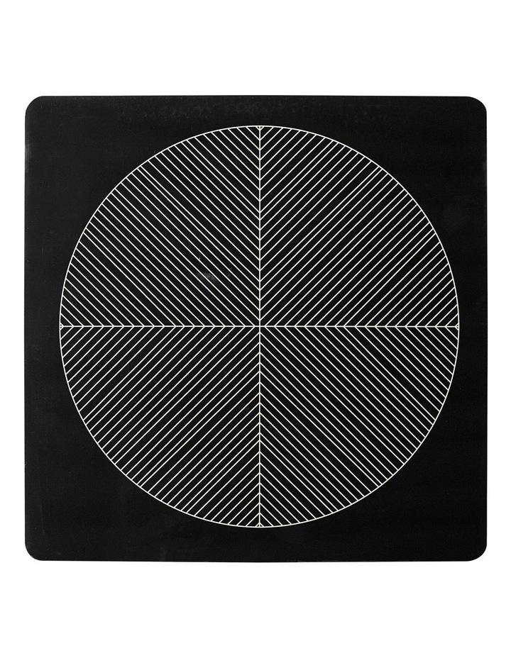 Tribal Hardboard 4pk Placemat Black image 1