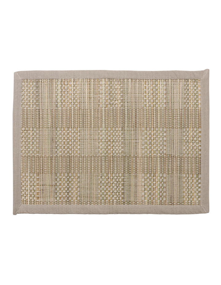 Hugo Bamboo Placemat Off White image 1