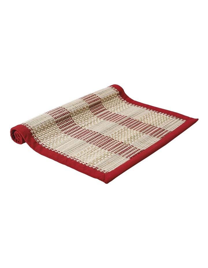 Hugo Bamboo Table Runner Red image 1