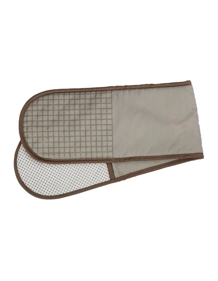 Epicurious Double Oven Mitt Taupe image 1