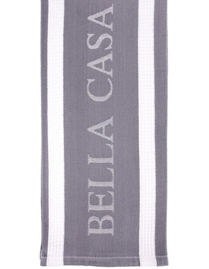 Bella Casa Grey Egyptian Cotton Kitchen Towel image 1