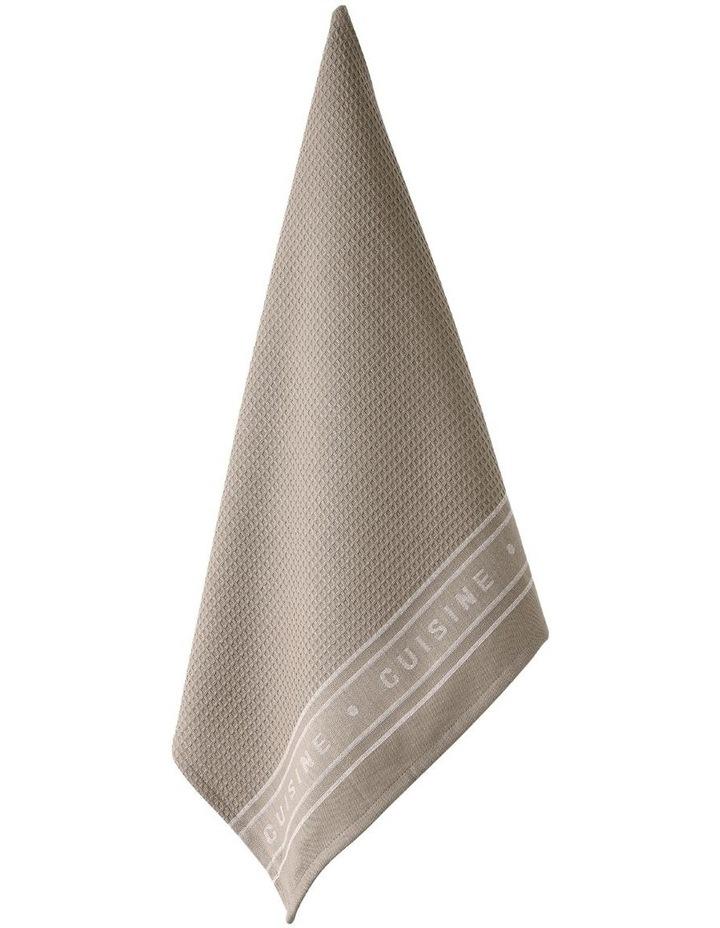 Professional Series Jumbo Tea towel Stone image 1