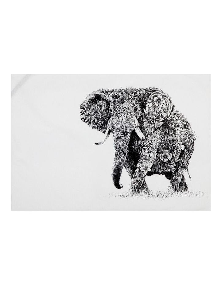 Marini Ferlazzo Tea Towel 50x70cm African Elephant image 1