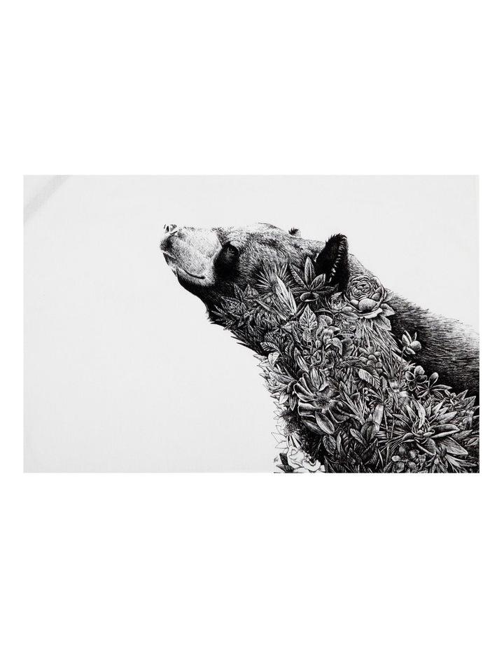 Marini Ferlazzo Tea Towel 50x70cm Asiatic Black Bear image 1