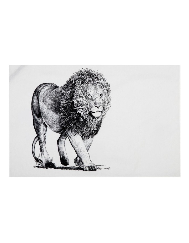 Marini Ferlazzo Tea Towel 50x70cm African Lion image 1