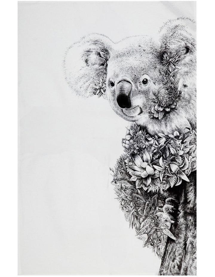 Marini Ferlazzo Tea Towel 50x70cm Koala On Gum image 1