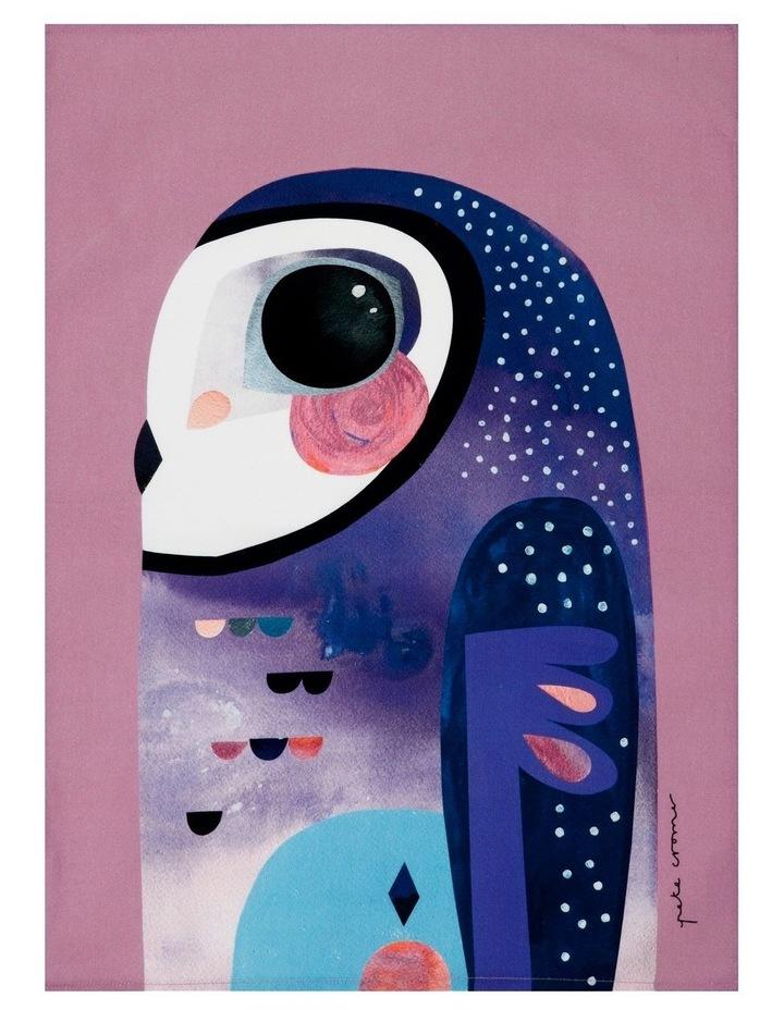 Pete Cromer Tea Towel 50x70cm Owl image 1