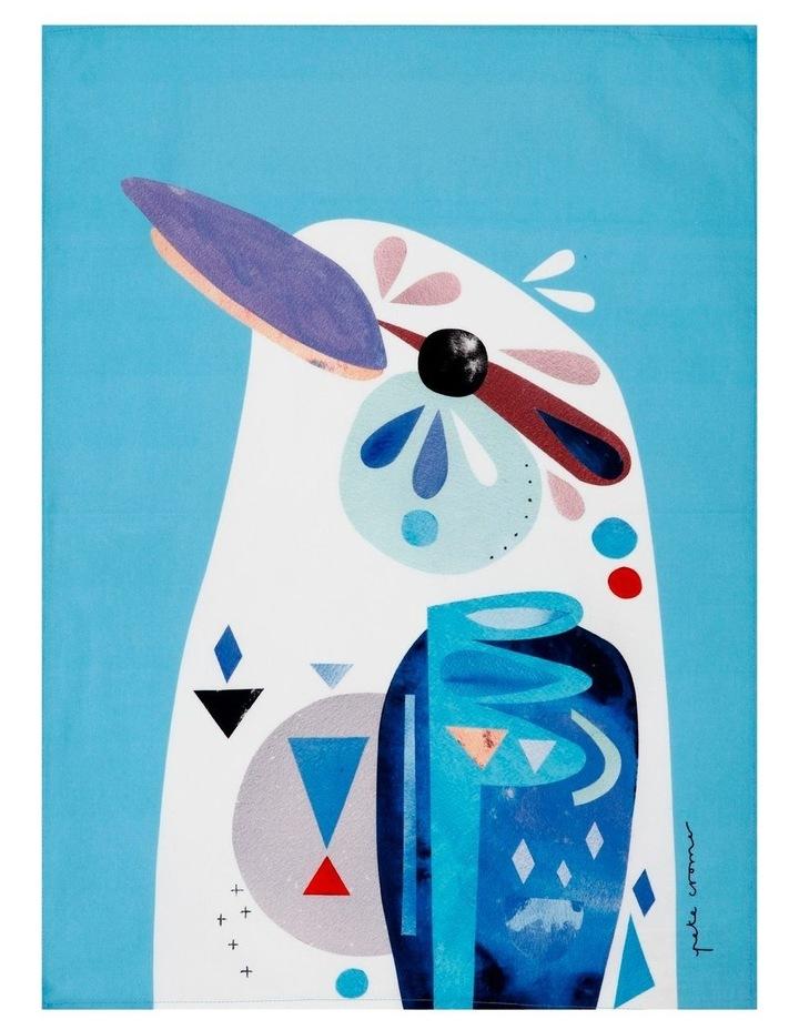 Pete Cromer Tea Towel 50x70cm Kookaburra image 1