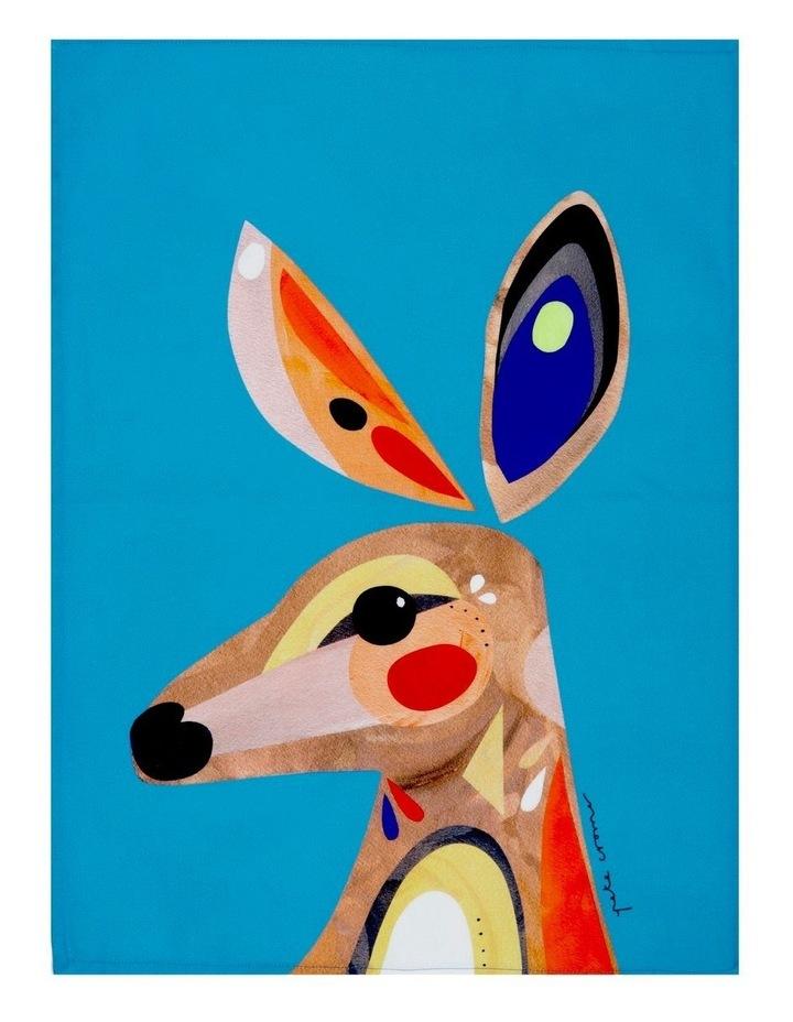 Pete Cromer Tea Towel 50x70cm Kangaroo image 1