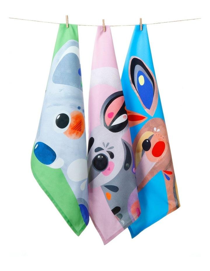 Pete Cromer Tea Towel 50x70cm Kangaroo image 2