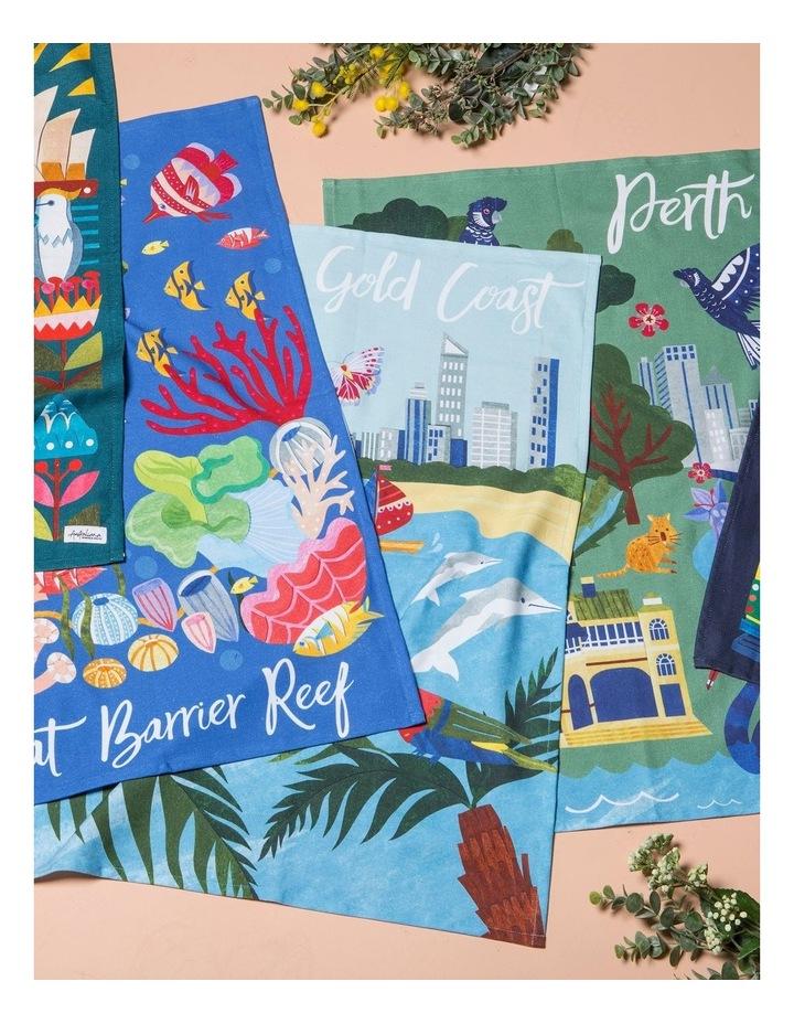 Gold Coast Tea Towel image 2